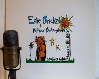 "ON SALE Edie Brickell and New Bohemiams Vintage Vinyl 1980s Hippie Pop Rock Stoner Deadhead Light ""Shooting Rubberbands At The Stars""(1988 G"