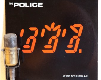 "ON SALE The Police Vinyl Record Album 1980s British English White Reggae Pop Rock LP, ""Ghost In The Machine""(Orig.1981 A&M)"