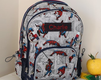 Small Allover Spider-Man Backpack Pottery Barn (Small Size)