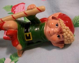 pixie elf stocking hanger
