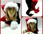 Jester  Santa hat (short shag)