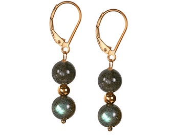 labradorite earrings sterling jewelry