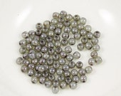 ON SALE Luster Green 3mm Round Czech