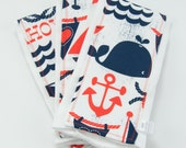 Ahoy Matey Burp Cloth Set