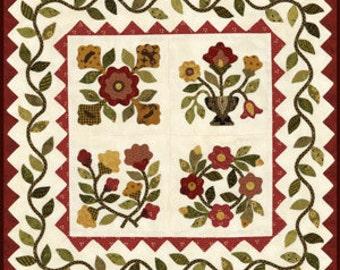 Julia's Garden Applique Quilt Pattern from Lori Smith