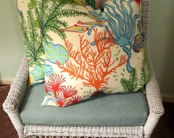 Our Best Seller  Tropical Fish Pillow Cover-Housewares-Home Decor-Beach Indoor Outdoor All Sizes
