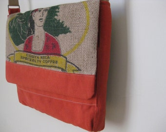 Popular Items For Recycled Coffee Sack On Etsy