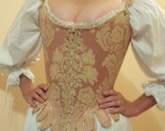 Reproduction 1770s Stays (18th Century Corset) - Custom order