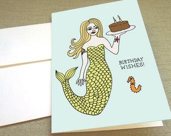 Mermaid Birthday Wishes