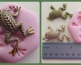 Frog Mold Resin Clay Flexible Mold