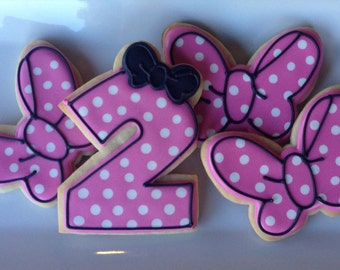 Bows and Dots Sugar Cookie Collection