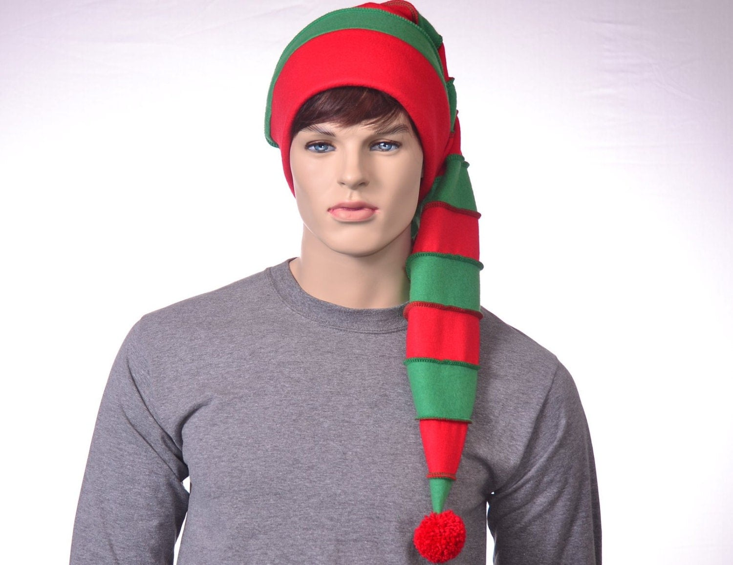 Define stocking cap. stocking cap synonyms, stocking cap pronunciation, stocking cap translation, English dictionary definition of stocking cap. n. A close-fitting knitted cap that resembles a stocking and often has a long tapering tail with a tassel attached. n a conical knitted cap, often with a.