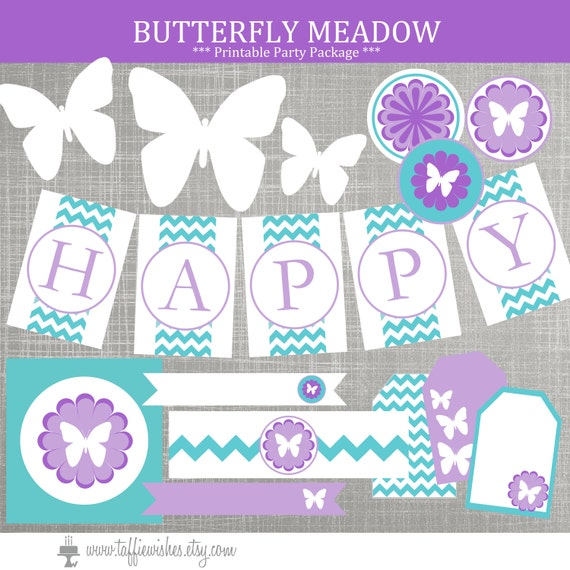 Butterfly birthday party decorations butterfly baby shower for Baby shower decoration butterfly