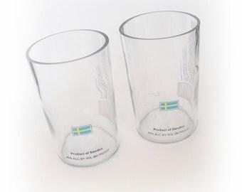 Pint Glasses Svedka Vodka Drinking Glasses Set of 2