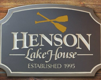 custom personal name sign home decor housewares custom sign custom cabin sign custom lake house sign welcome sign address sign personal sign - Custom Signs For Home Decor