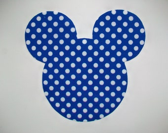 DIY Mickey Mouse Applique - Iron On