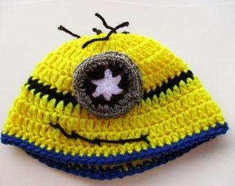 Minion Beanie Hat (adult)