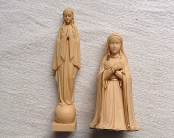 Vintage religious figurines  Mary figurine