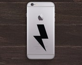Lightning Bolt Vinyl iPhone Decal BAS-0264