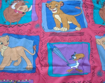 SALE - Lion King Flat Bedsheet For Twin Bed