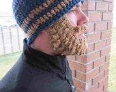 CUSTOM Adults Ultimate Bearded Beanie