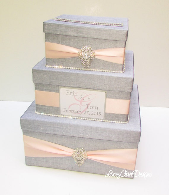 Wedding Gift Envelope Box : Wedding Gift Box, Card Box, Money Holder Envelope Reception Card Box ...