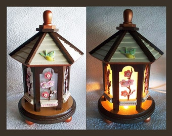 Floral Night Light Lamp