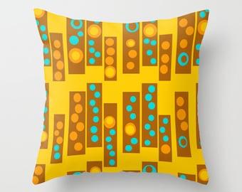 Modern Outdoor Pillow, Outdoor Pillow, Geometric Outdoor Pillow, Mid Century Modern Outdoor Pillow, Outdoor Throw Pillow