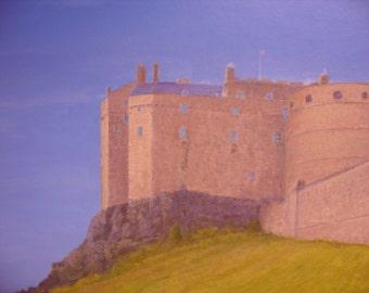 Edinburgh Castle...oil painting