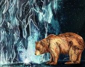 Bear Cave // A5 print 5x8