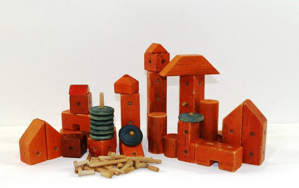 Vintage Building Blocks 48