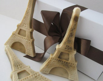 EIFFEL TOWER SOAP - gift for man, stocking for dad, gifts for teens, gifts for teachers, Stocking stuffer