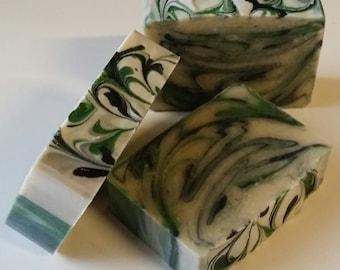 Lime and Black Pepper Handmade Soap