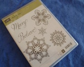 Snowflake Soiree Clear Stamps by Stampin Up