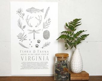 Virginia Field Guide Print