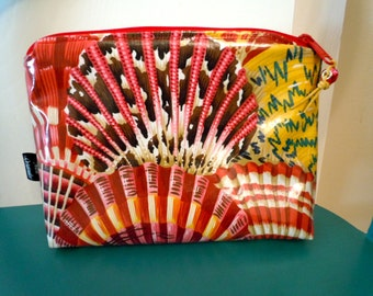 Cosmetic Bag Seashells Laminated