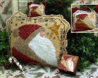 Elegant Kris Kringle ~ Cross Stitch Pattern
