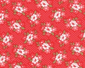 Daysail by Bonnie and Camille - Red Blooms (55107-11) - 1 Yard