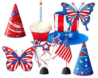 4th of July clipart 4th of july clip art Patriotic clipart patriotic clip art independence day stars stripes 4th of july digital