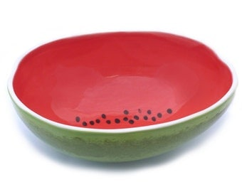 Large Watermelon Serving Bowl