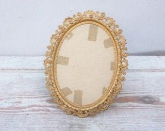 Fancy Victorian Brass Frame