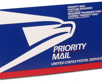 Shipping Upgrade to Priority Mail - Please Read Listing