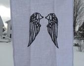 Angel Wings Dish Towel - 25L X 19W