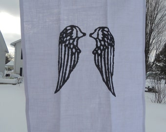 Angel Wings Dish Towel - 25L X 19W