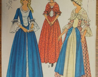 Vintage Pattern Costumes For The Bicentennial Simplicity 6787