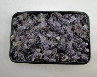 Rock Your World Amethyst Belt Buckle