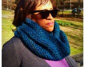 The Cerulean Signature Infinity Scarf