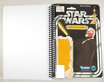 Ben Obi-Wan Kenobi Recycled Vintage Star Wars Notebook/Journal