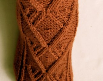 Knit Sock Pattern: King Solomon's Socks Knitting Pattern