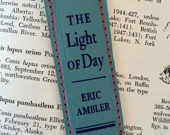 Bookspine bookmark /// The Light of Day /// teacher gift